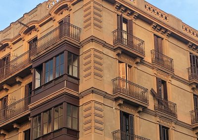 Operación confidencial residencial en Barcelona