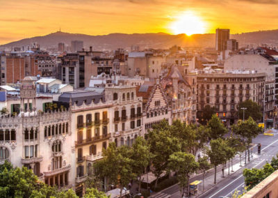 Venta paquete residencial en Barcelona